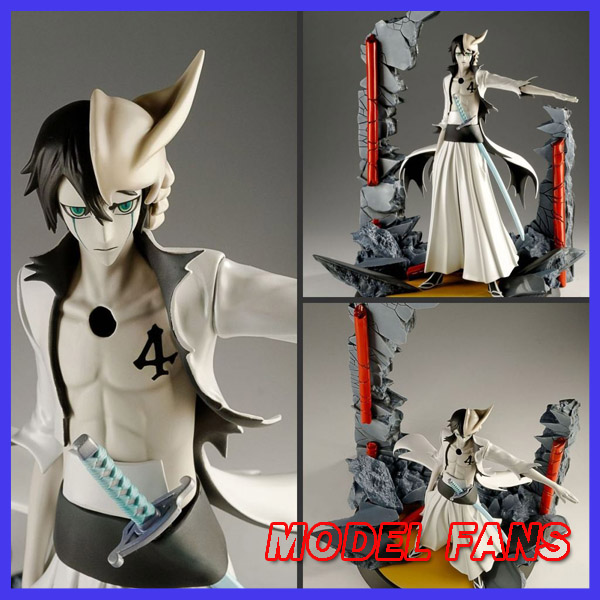 MODEL FANS IN-STOCK the same paragraph Tsume 35cm BLEACH NO.4 Espada Ulquiorra cifer GK resin made for Collection рубашка insight no fool bleach blue classic