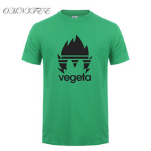 Dragon Ball Z Vegeta Cotton Short Sleeve O-neck Men's T-shirt