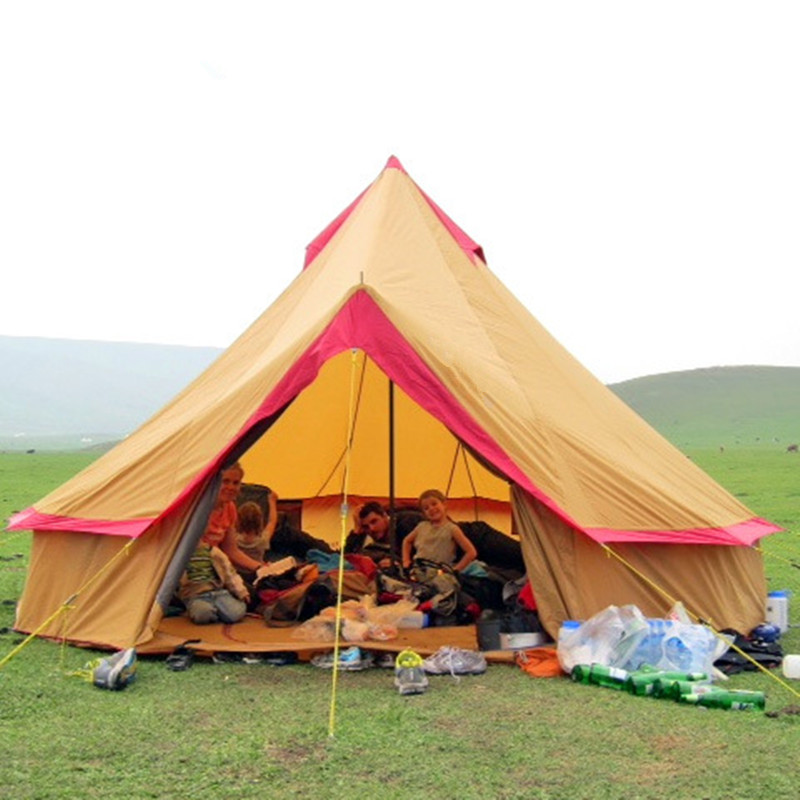 Wnnideo Cotton Canvas Bell Tent Waterproof tipi tent with Stove Jacket on the wall big tent-in Tents from Sports u0026 Entertainment on Aliexpress.com | Alibaba ...  sc 1 st  AliExpress.com & Wnnideo Cotton Canvas Bell Tent Waterproof tipi tent with Stove ...