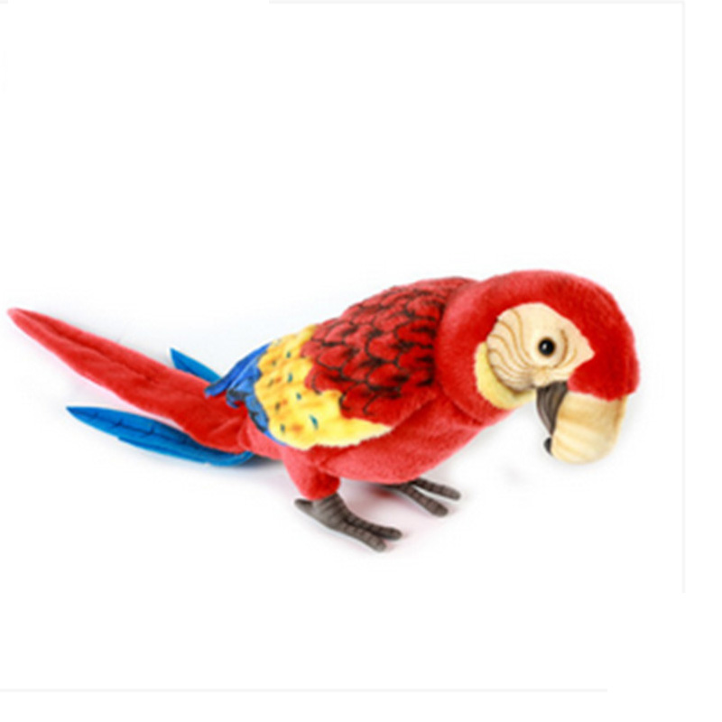 Fancytrader Simulational Birds Parrot Plush Toy Emulational Animals Decoration Doll Gifts for FriendsFancytrader Simulational Birds Parrot Plush Toy Emulational Animals Decoration Doll Gifts for Friends