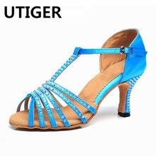 pas Populaire cher dames chaussures bleue salsa acheter rqr8Xy