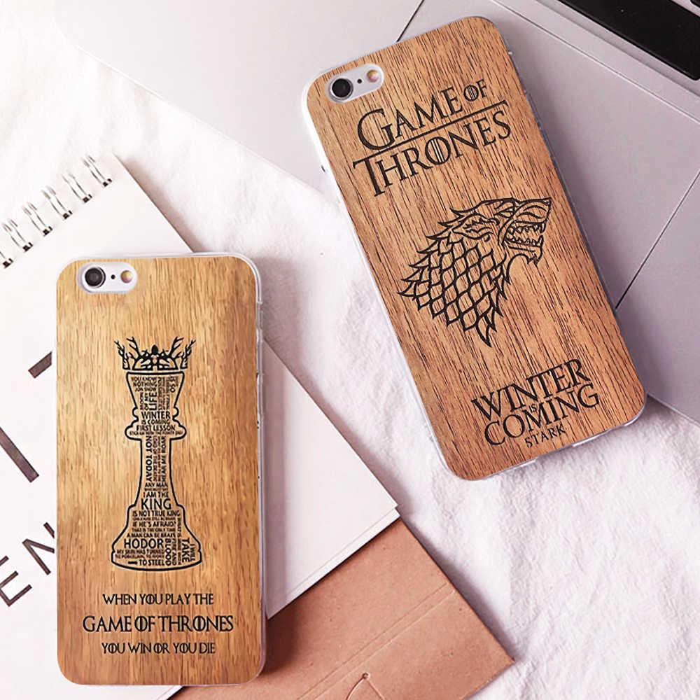 Game Of Thrones Nhân Vật Logo Hoa Văn Thiết Kế Rõ Ràng Cứng Ốp Lưng Điện Thoại Dành Cho iPhone 11Pro Max 6 6 S 7 8 Plus 5 S X XS XR Xsmax