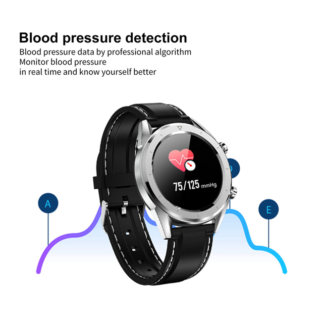 DTNO.I DT NO.1 DT28 ECG Heart Rate Monitor Smart Watch IP68 Waterproof Fitness Tracker Blood Pressure Sport Smartwatch Men Q8