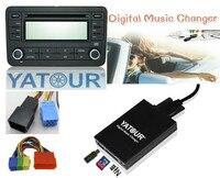Yatour For Audi Chorus 1 Chorus 2 Concert 1 Concert 2 Car MP3 Player USB SD