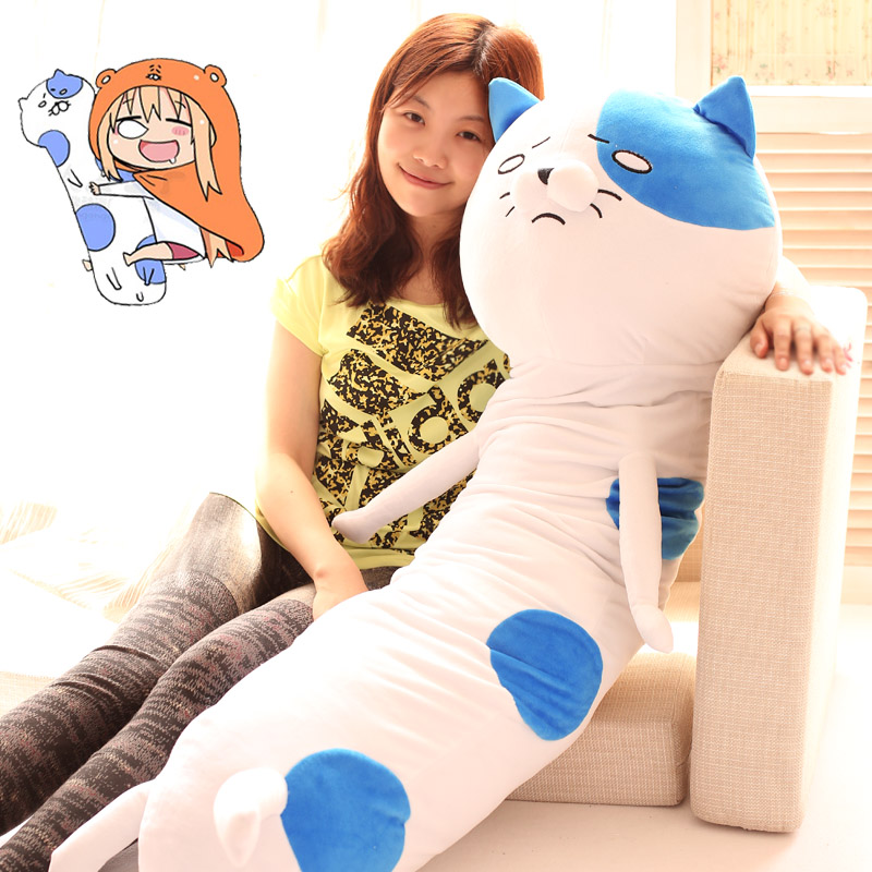 2015 dry sister small cat cat Plush Doll buried long pillow so sad cat plush doll doll size