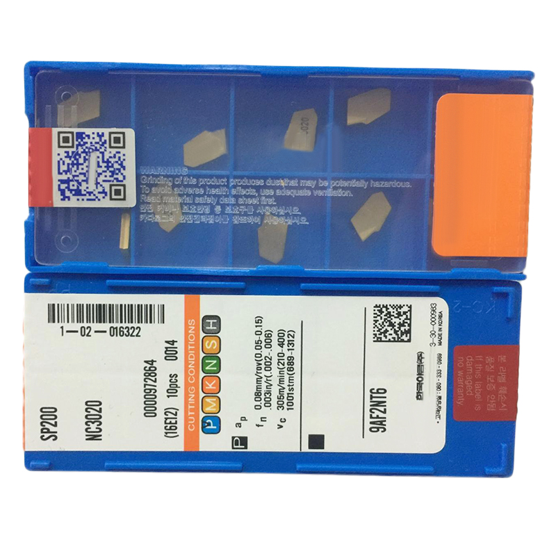 Carbide Width Accessories 10pcs SP200 NC3020 GTN-2 ZQMX2N11-1E Cut-Off Inserts 2mm Kit Grooving Replaces Set Pack