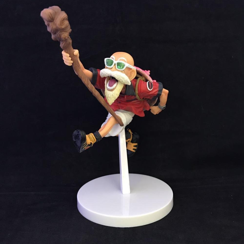 17.5cm Anime Dragon Ball Z SCultures Kamesennin Figure Toy Tropical Color VER Overseas Limited PVC Collection Model Gift