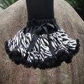 Retail Fashion Ribbon Bow Girls Tutu Skirt Short Baby Tutus Skirt For Girls Pettiskirt Girl Skirt PETS-085