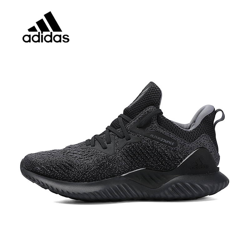 san francisco 8b186 c169a Original Official Adidas Alphabounce Beyond Bounce Men s Running Shoes Sport  Outdoor Sneakers Good Quality Comfortable AQ0573