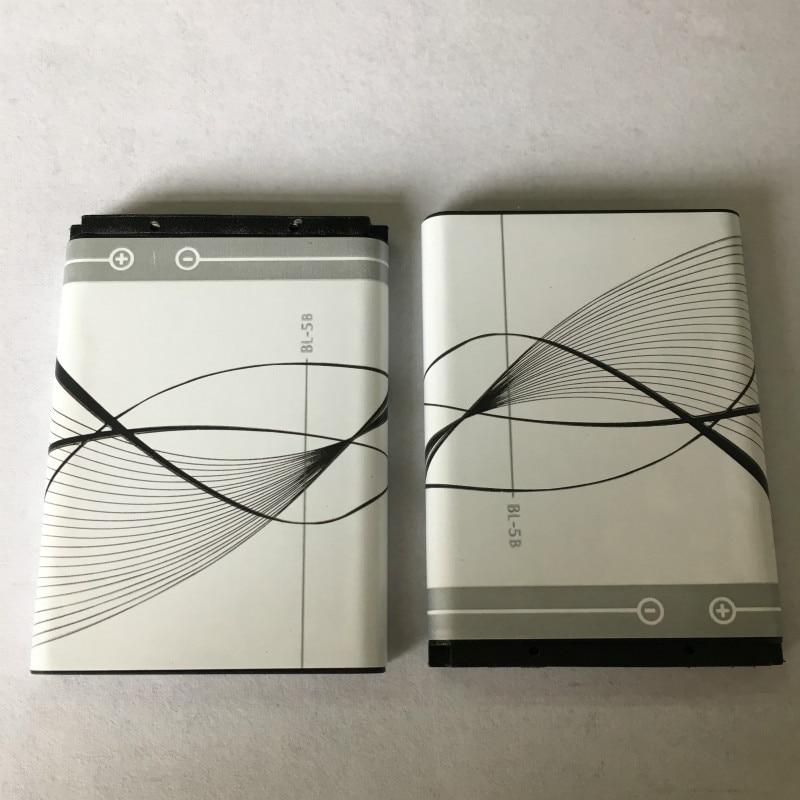 2pcs/lot bateria BL-5B Battery for NOKIA 5300 5320 6120c 7360 6120ci 3220 3230 5070 BATTERY BL5B(China)