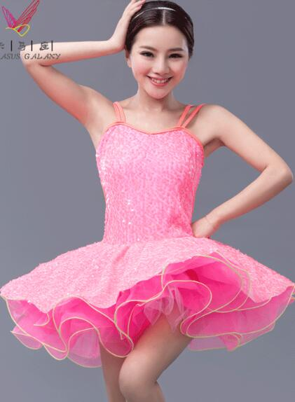 green pink tutu dancing costume modern jazz adult kids ...