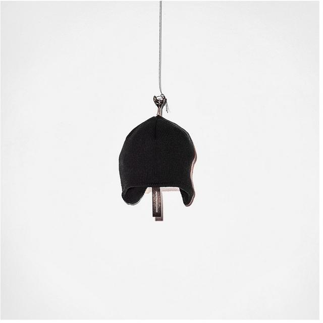 De las mujeres de Invierno Sombreros peacemin archivo pom knit cap BIGBANG diseño con gorro de terciopelo para año nuevo men'winter beanie sombrero negro sombrero
