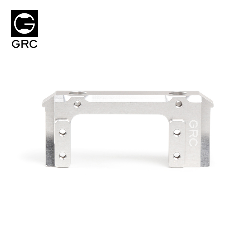 GRC 90046 metal rudder front bracket high quality competitive SCX10 90047 silvery/black rudder bracket fixed seat free shipping