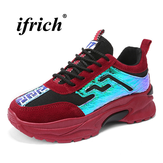 5a4e37372 Comfortable-Athletic-Women-Shoes-Thick-Soled-Ladies-Jogging-Walking-Shoes -Non-Slip-Girls-Running-Sneakers-Red.jpg_640x640.jpg