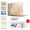 Mármol Textura Caja Del Ordenador Portátil Para Macbook Air Pro 13 Caso Aire 11 Pro 15 Retina 13 Caso Para Mac Book Air 13 Caso de la Cubierta Del Teclado Libre