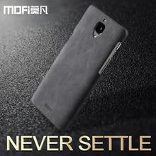 oneplus 3 case oneplus 3 case leather back cover mofi original 3000 hard case black blue brown one plus soft pu fundas coque