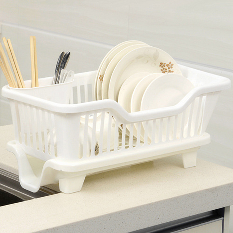 kitchen drainer basket cabinet door handles sink dish cup utensil dishes drying rack holder organizer tray useful tools ds23 in racks holders from home garden on