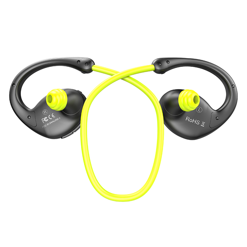 New Bee Snail Sport Bluetooth Earphone Wireless Headset Headphones HiFi Earbuds with Microphone APP Graphene speaker for Phone finefun new bee bluetooth headphones bluetooth headset wireless headphones earphone for ios android phone smartphone table pc
