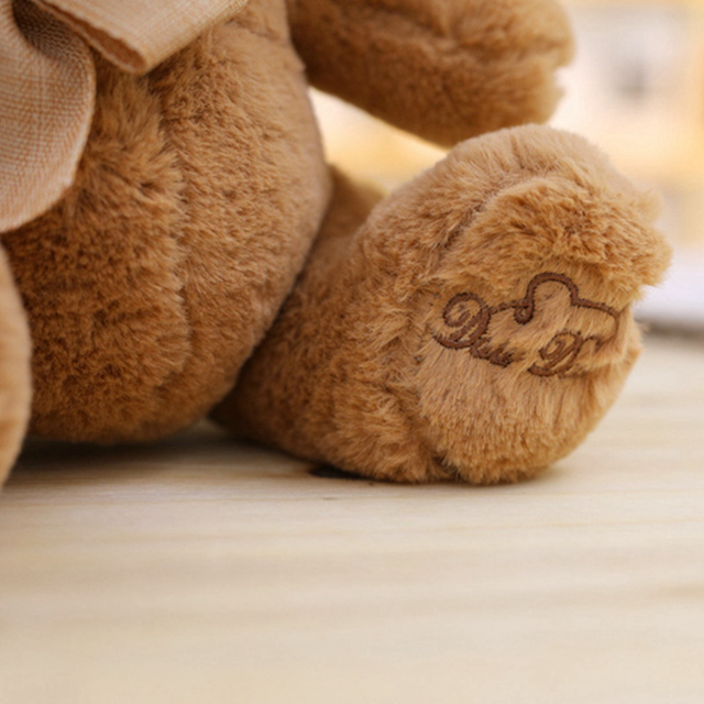 1pc 20/25/32/40CM Stuffed Teddy Bear Dolls Patch Bears Two colors Plush Toys Best Gift for Children Kids Toy Wedding Gifts Uncategorized Decoration Kid's Toys Stuffed & Plush Toys Toys