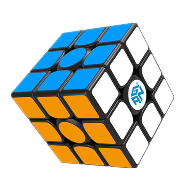 GAN356 Air SM Cube magique professionnel 3x3x3 356Air SM Cube de vitesse magnétique noir autocollant version puzzles cube Gan 356air sm