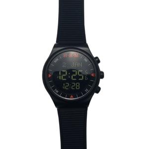Image 3 - 1 sztuk/partia muzułmański automatyczny Fajr zegarek z budzikiem HA 6506