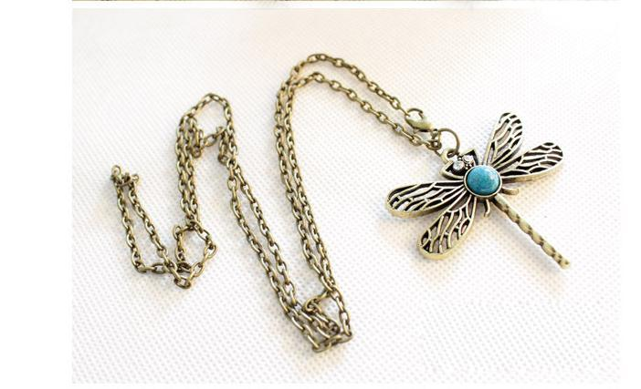 Game Of Thrones Sansa Stark's Dragonfly Pendant Necklace