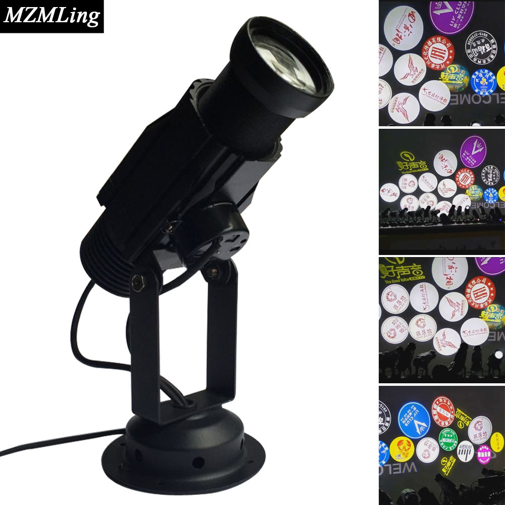 20w Led Logo Light Projection Lamp Stage Light DJ/Fest/Home / Bar /Stage /Party Light Led Stage Machine Led Light 4w snow love kaleidoscope led stage lamp light logo light
