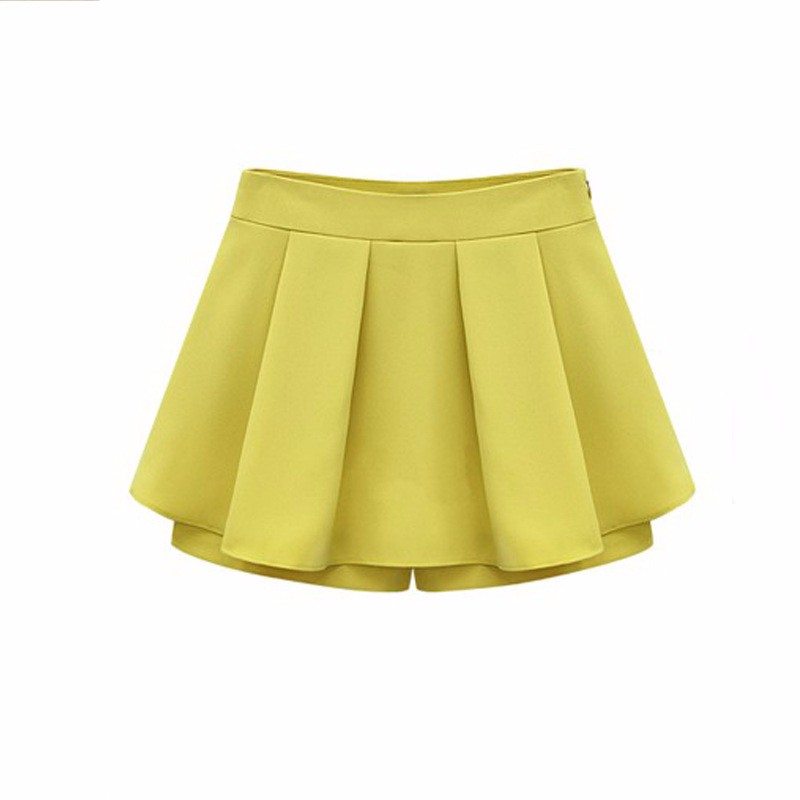 2016 Women Fashion Skirts Shorts Summer Plus Size Culottes For Woman Fitness Running Shorts