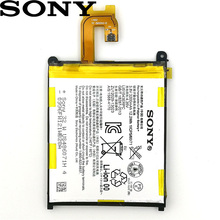 Sony 2pcs New Original 3200mAh LIS1543ERPC Battery For Xperia Z2 L50 L50W L50U L50T D6502 D6503 Phone Replace + Track Code