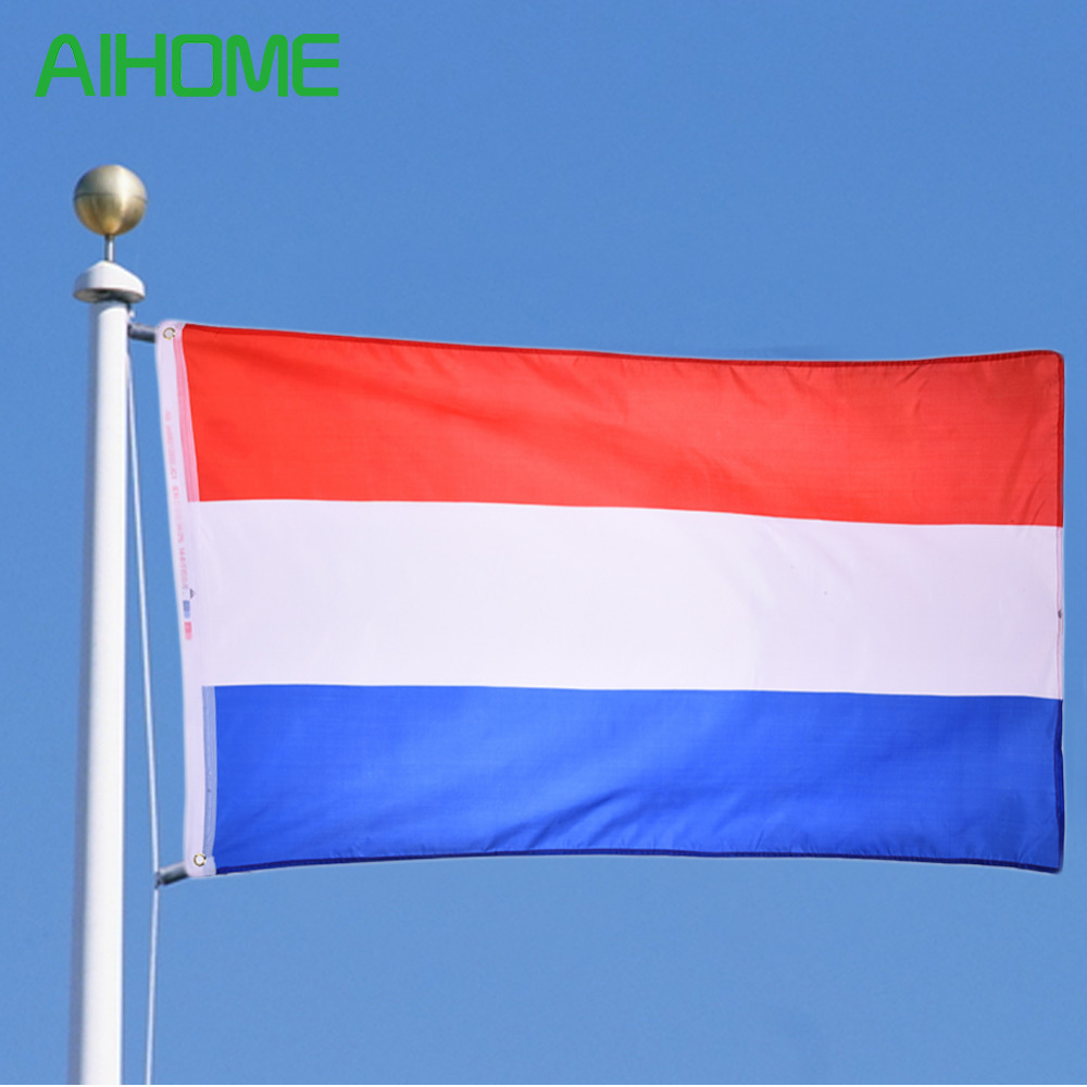 . New Netherlands <font><b>Flag</b></font> Dutch National Country Hanging <font><b>Flag</b></font> <font><b>90x150cm</b></font> Banner Polyester History Clebration Events Decor <font><b>Flag</b></font> image
