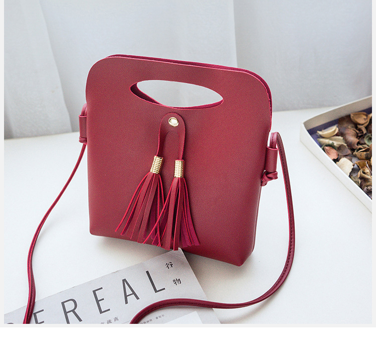 7f36b7ccba Small Messenger Bag Women PU Mini Girls Handbag Ladies Purse Cell Phone  Pocket Crossbody Shoulder Bags