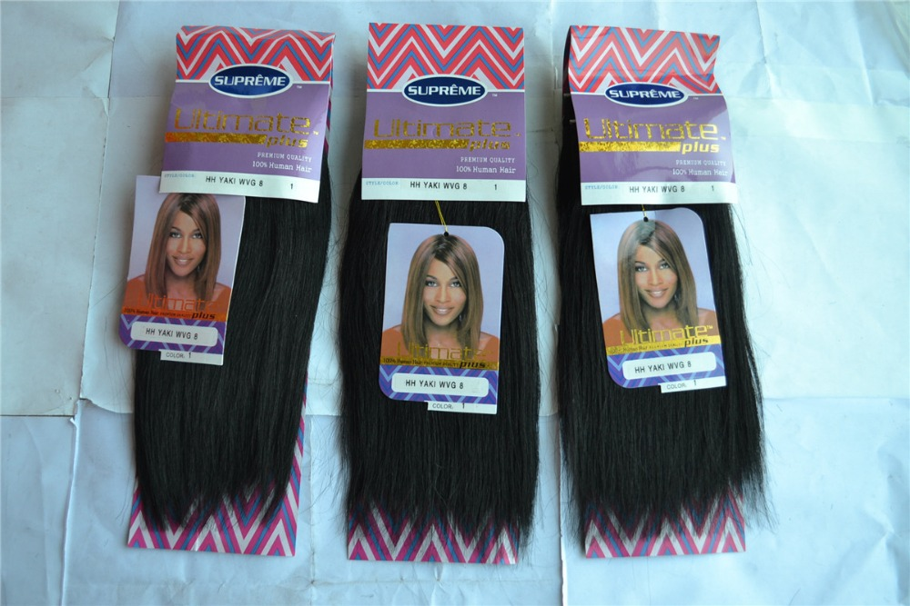 Free Shipping Blended Hair Yaki Human Hair Braiding Hair Human Mix