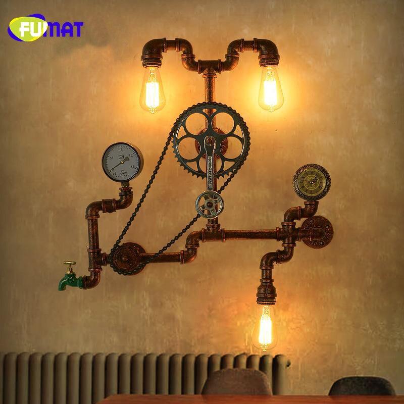 Gear Wall Lamps 5