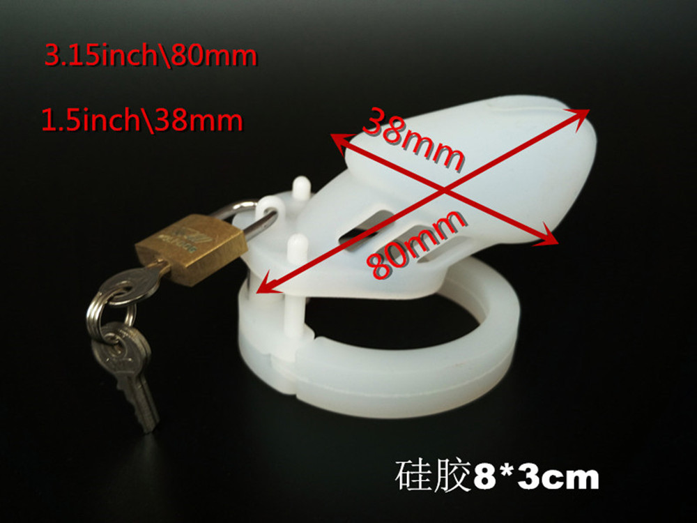 Sex tools for sale newest soft Silicone male chastity device belt cock cage penis cock ring bdsm bondage sexy sextoys for men.