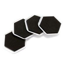 8pcs/lot Magic Furniture Moving Sliders Mover Pads Gliders Carpet Flooring  Coaster Furniture Protector(