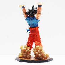 16cm Anime Dragon Ball Z Figuarts Zero Son Goku Spirit Bomb Genki Dama Ver PVC Action Figure DBZ Cool Model Doll