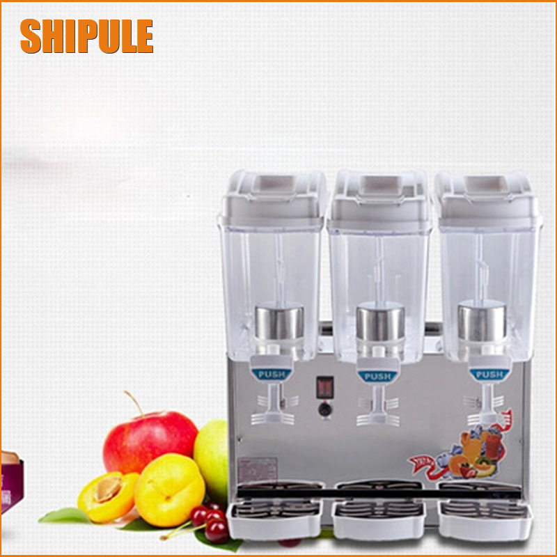 SHIPULE 17L three cylinders hot and cold fruit juice machine for your summer best choiceSHIPULE 17L three cylinders hot and cold fruit juice machine for your summer best choice