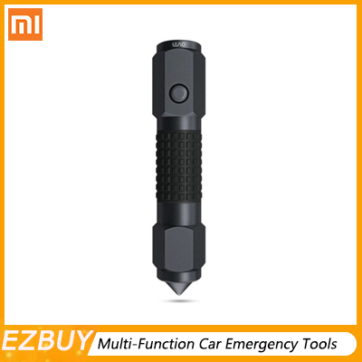 Xiaomi 2 in 1 Leao A10 3Modes Car Safety Hammer Multi-Function Car Emergency Tools Electric Torch Seat Belt Cutter