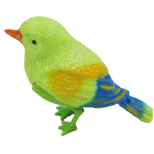 toys for children 1pcs plastic sound voice control activate chirping