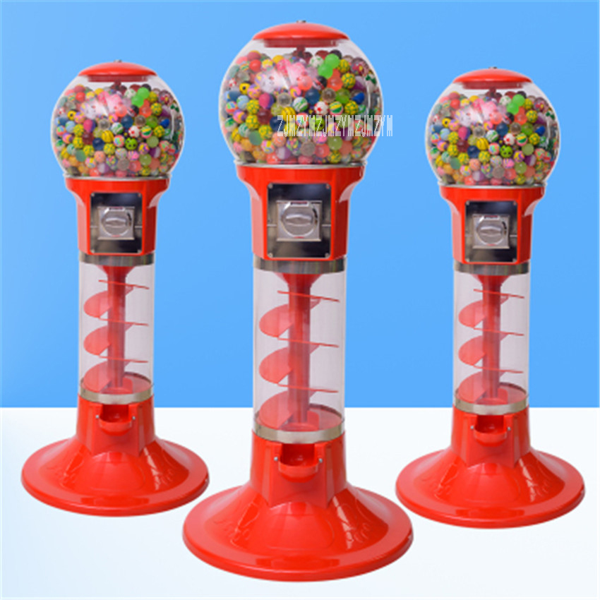 1PC Automatic Coin operated Game Machine 32mm 60mm Bouncy Ball Machines /Twisted Egg Games Vending Machine 1.1 m/1.3 m Hot Sale - 3