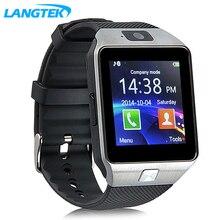 2017 nuevo smart watch dz09 con cámara tarjeta sim reloj de pulsera bluetooth smartwatch para android ios teléfonos soporte multi idiomas