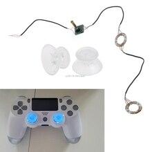 Аналоговые палочки джойстик колпачки Светодиодный светильник DIY для PS4 Platstation 4 контроллер