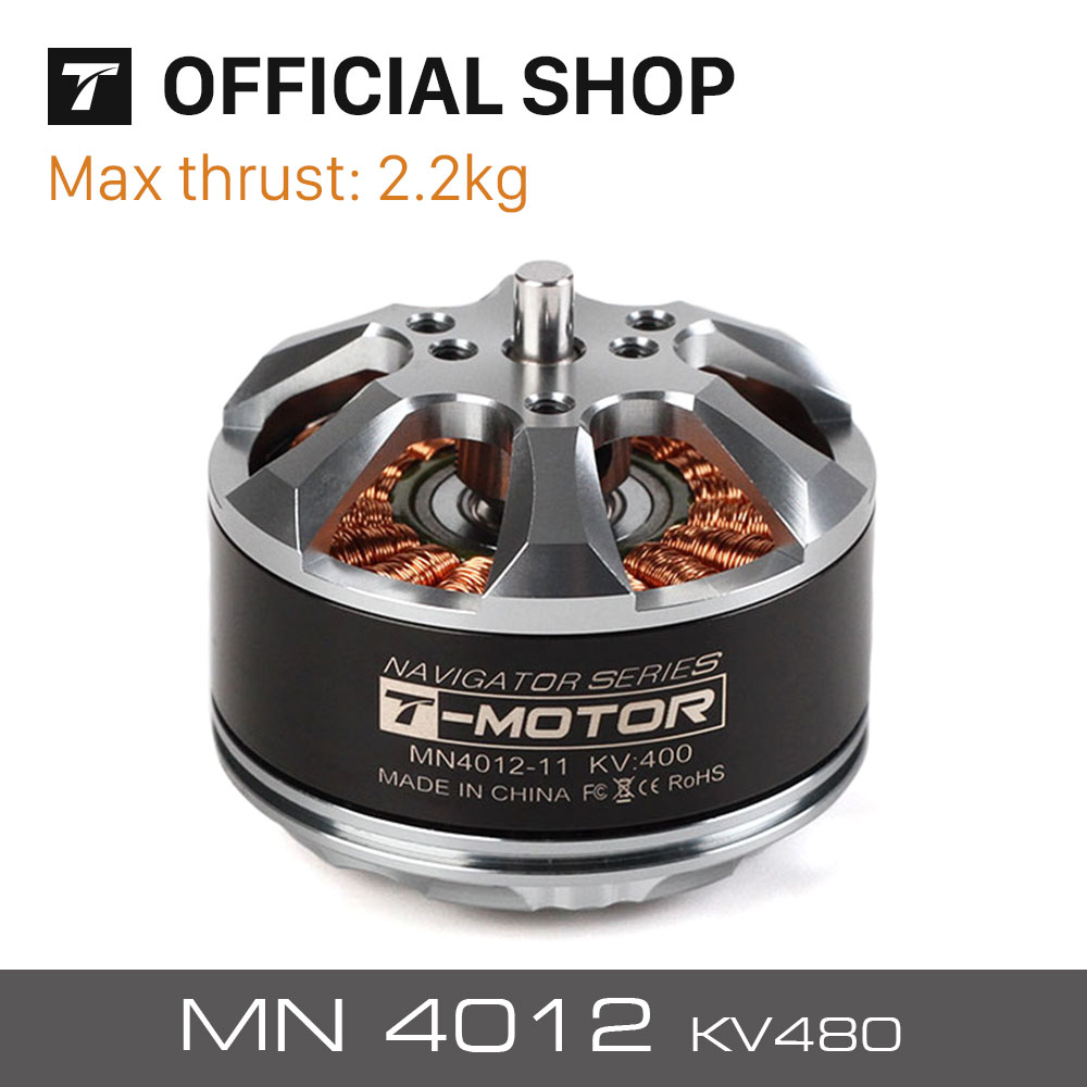 T-motor MN4012 KV480 specila design high quality brushless electric motor for multirotor copter rc drones Aircraft planes цена