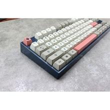 MP SA 9009 Colorway Retro Keycap Cherry PBT Dye Subtion Keycaps SA โปรไฟล์สำหรับคีย์บอร์ด