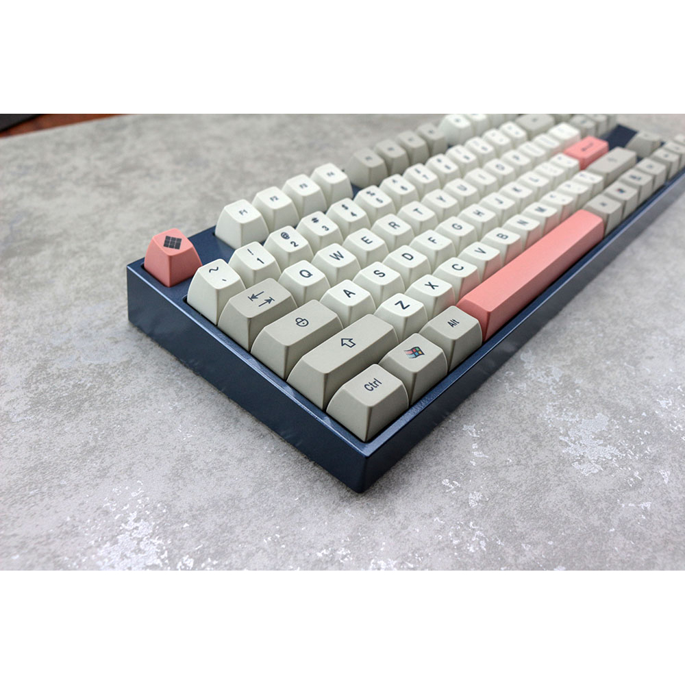 MP SA 9009 Colorway Retro Keycap Cherry PBT Dye-Subtion Keycaps SA Profile For Mechanical Gaming Keyboard