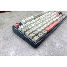 MP Sa 9009 Colorway Retro Keycap Anh Đào PBT Dye Subtion Keycaps Sa Hồ Sơ Cho Cơ Chơi Game