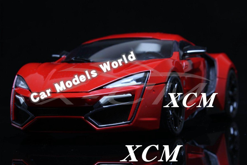 Diecast Car Model for WMOTORS HyperSport 1 18 Red SMALL GIFT