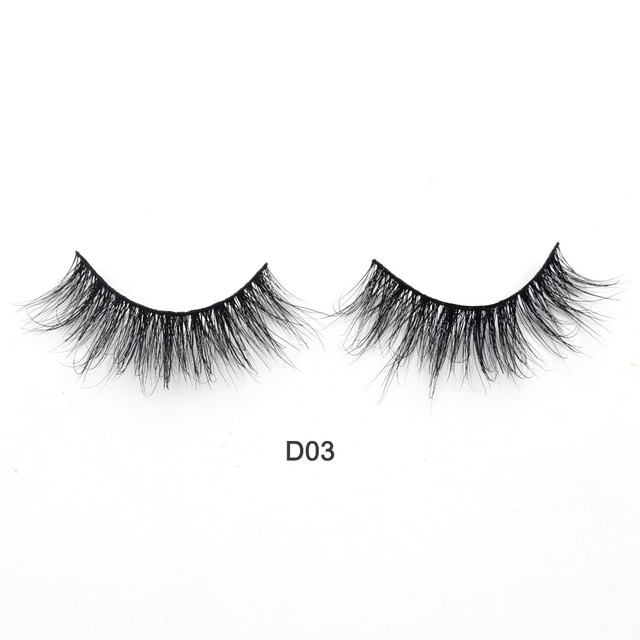 Visofree Eyelashes 3D Mink Lashes Luxury Hand Made Mink Eyelashes Medium Volume Cruelty Free Mink False Eyelashes Upper Lashes 1