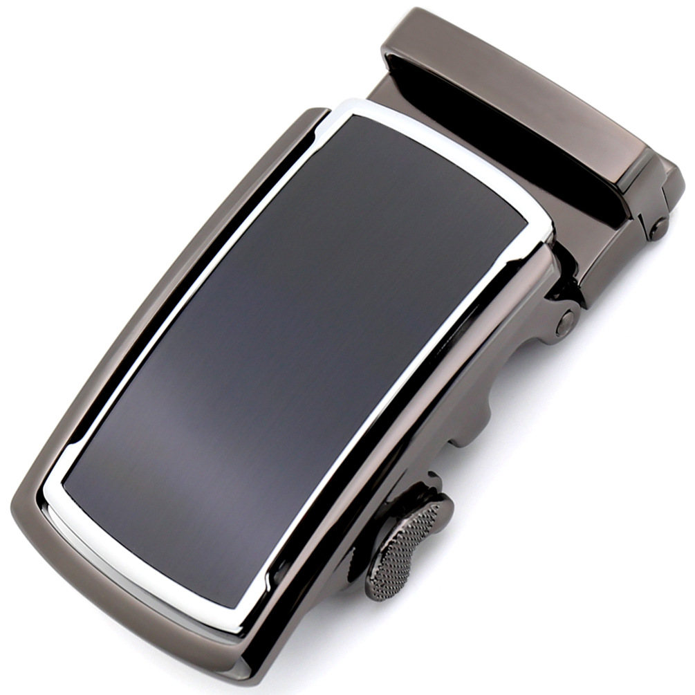3.5cm Width Mens Belt Buckle Head Hot Sale Genuine Leather Belt Men Automatic Buckle Metal CE88951