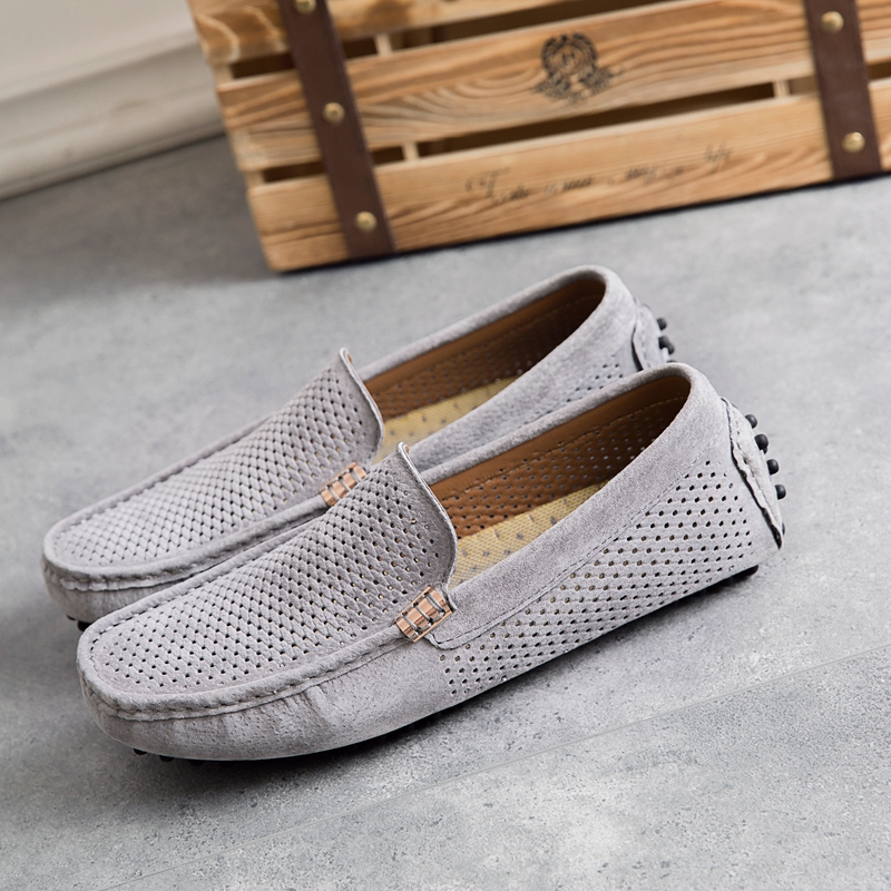 High Quality Mens Casual Loafers Luxury Brand Top Men's Casual Shoes Slip On Boat Shoes For Men Moccasins Chaussure Homme 38-44